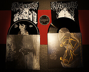 Black Vinyl Package (two black vinyls + one T-shirt of choice + free circle patch)